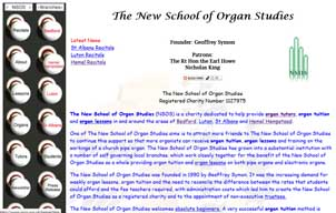 New School of Organ Studies