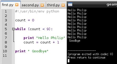 write web service python